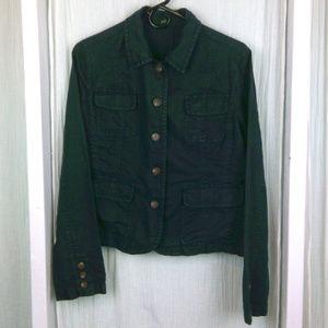 J.Crew Dark Navy linen blazer